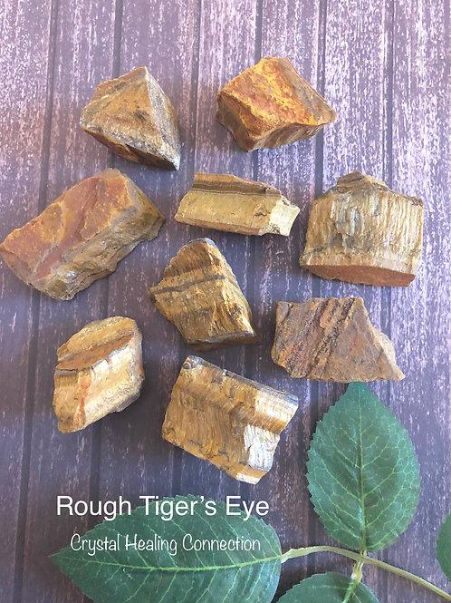 Rough Tiger's Eye
