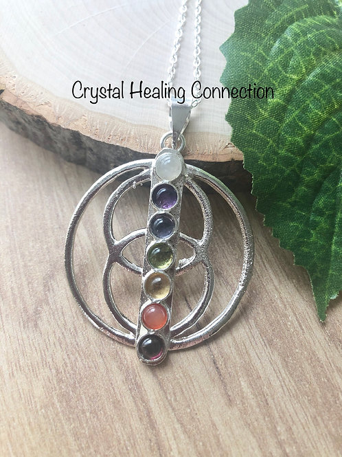 Chakra Circles Necklace