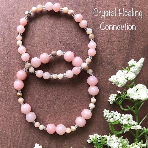 Pink Opal Bracelets
