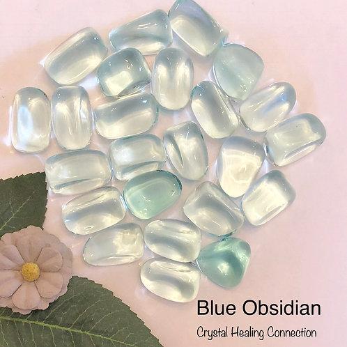 Blue Aqua Obsidian