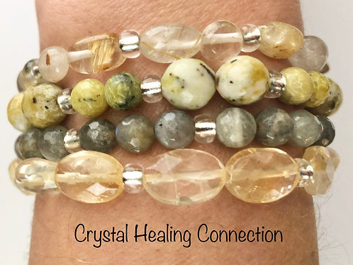 Yellow Blend Crystal Stackables