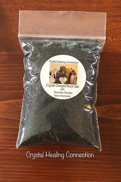 Crystal Charged Black Salt