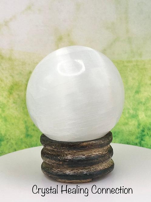 Selenite 50mm Sphere