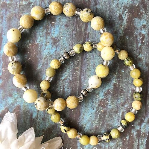 Yellow Turquoise Bracelets