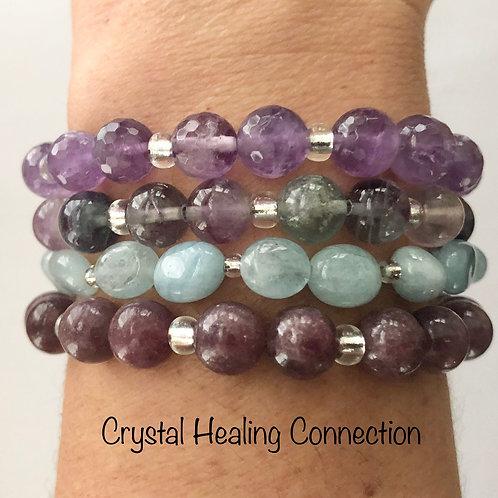 Purple Blend Crystal Stackables