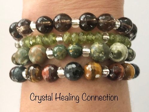 Earth Blend Crystal Stackables