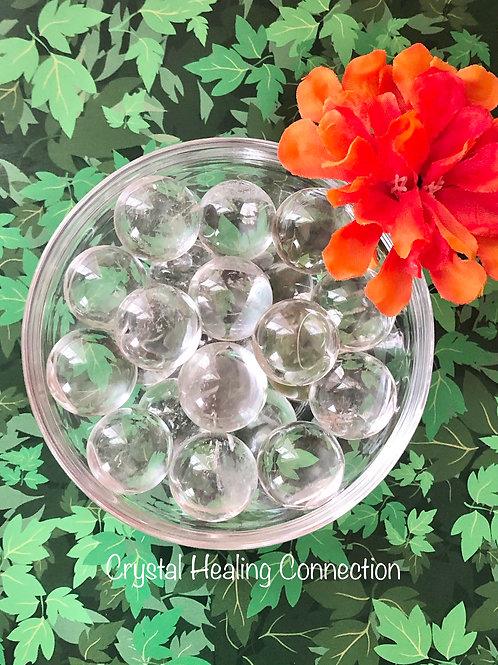 Clear Quartz Mini Spheres