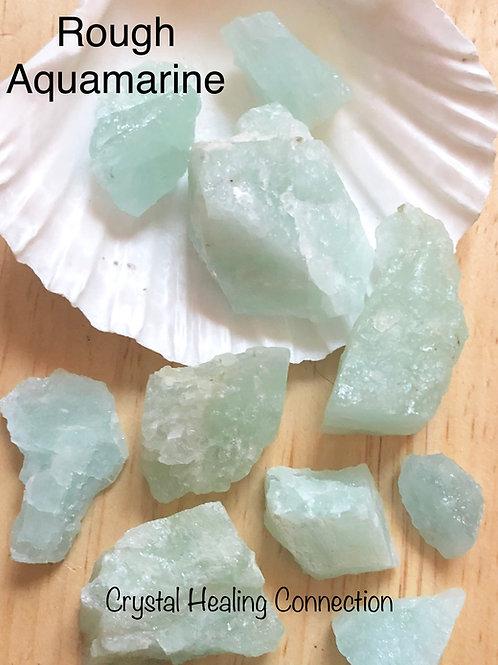 Rough Aquamarine