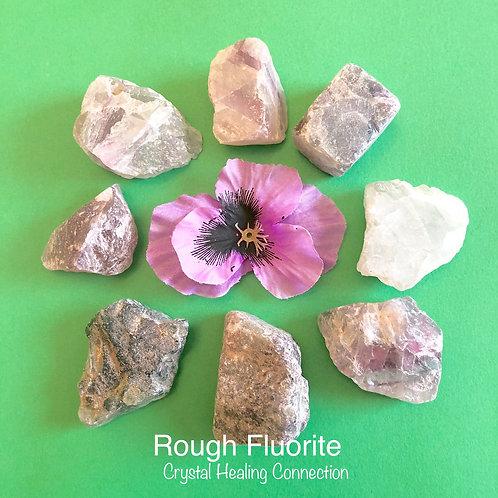 Rough Fluorite