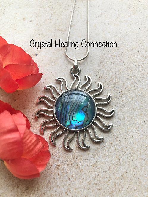 Abalone Sun Necklace