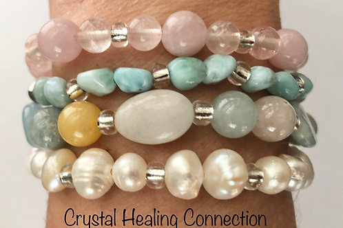 Beachy Blend Crystal Stackables