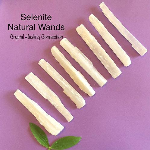Natural Selenite Wands 4.5 inch