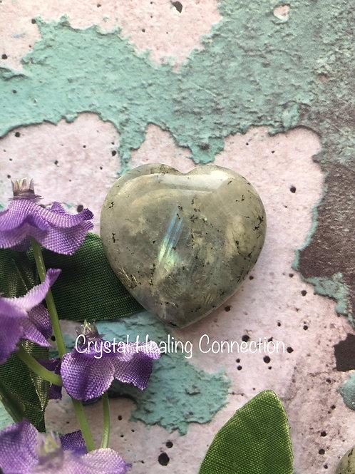 Labradorite 30mm Hearts