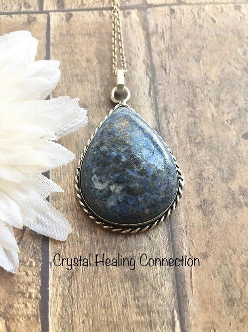 Lapis Lazuli Teardrop Necklace