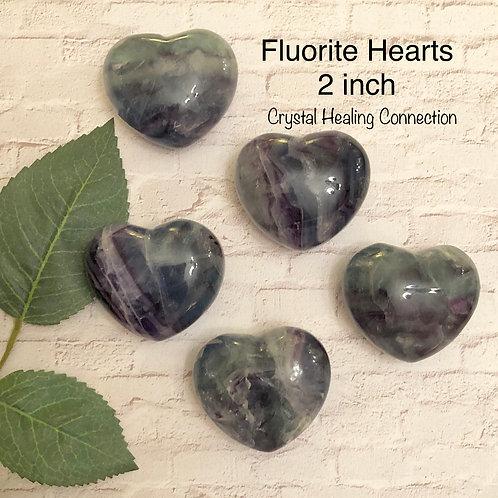 Fluorite Hearts