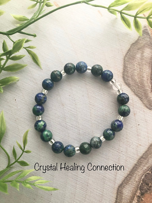Azurite /Malachite Bracelets