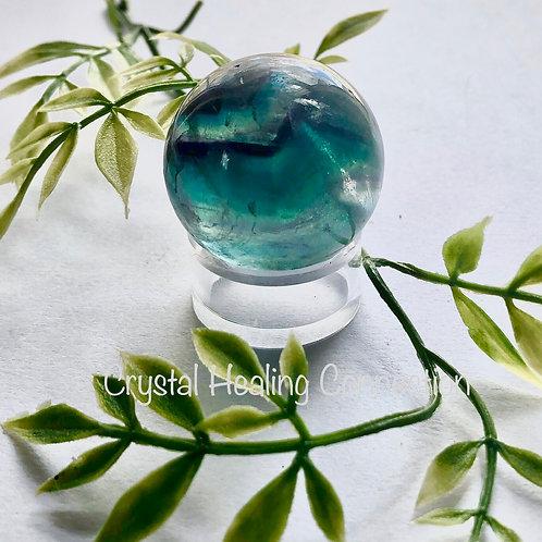 Fluorite 30mm Sphere