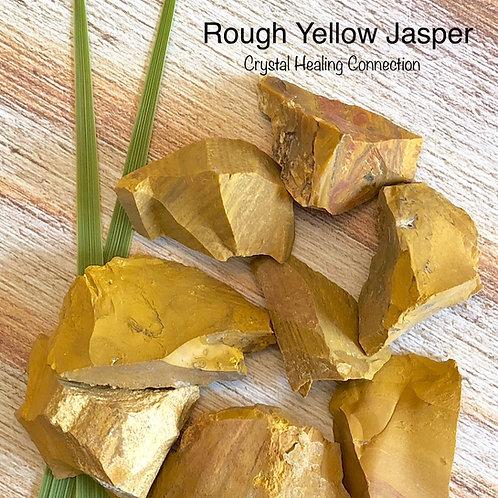 Rough Yellow Jasper