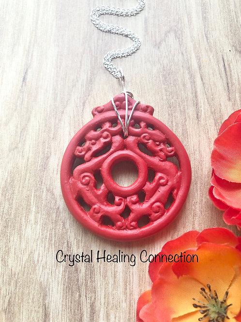 Cinnibar Necklace