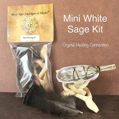 White Sage  Mini Smudge Kit