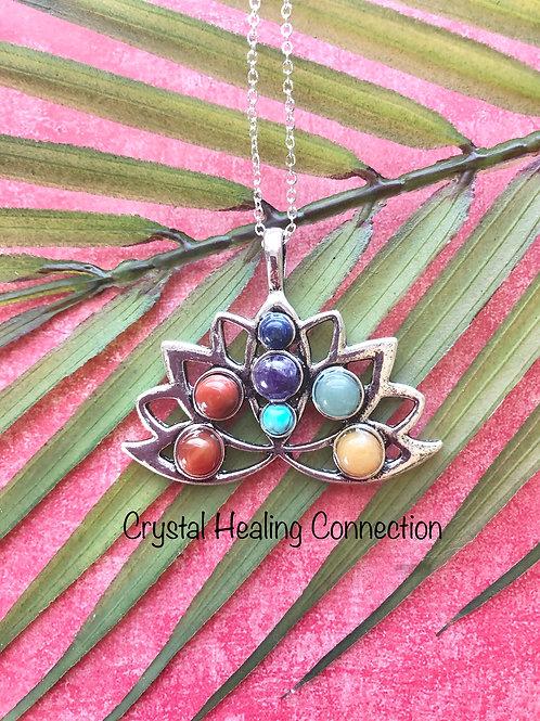 Lotus Chakra Necklace