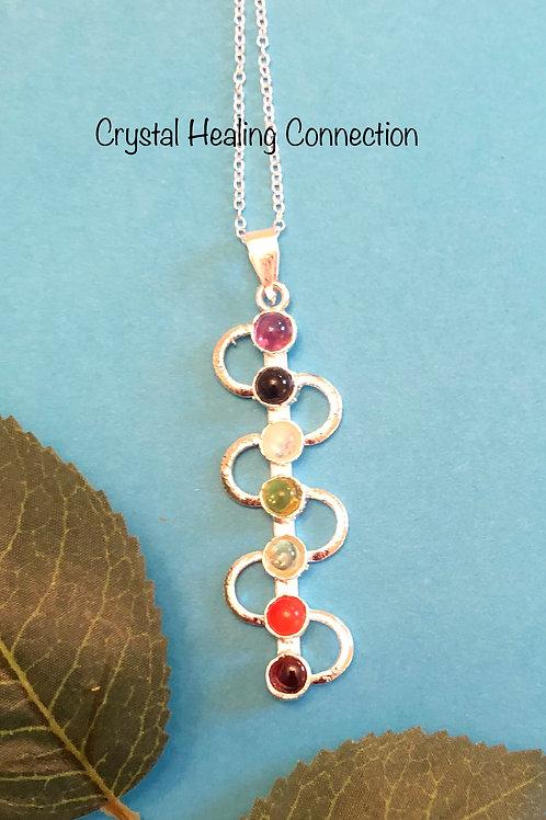 Chakra Snake Necklace