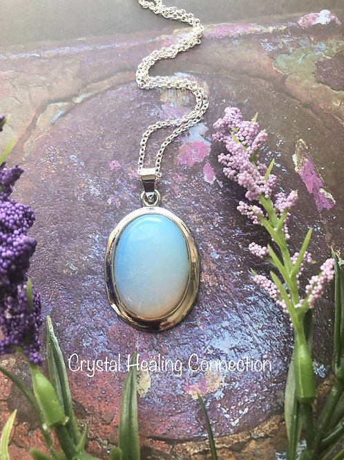 Opalite Oval Necklace