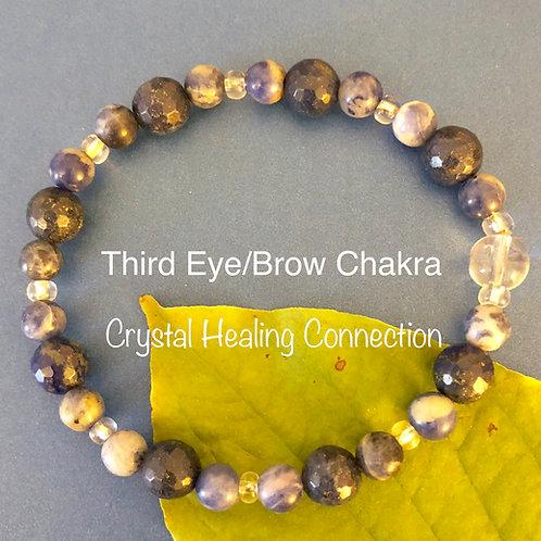 Third Eye / Brow Chakra Bracelet