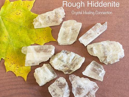Rough Hiddenite