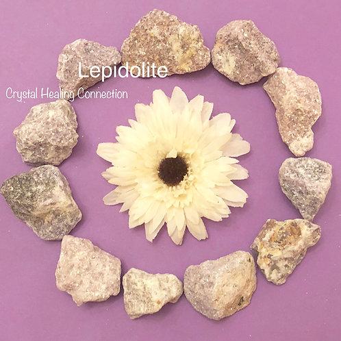 Rough Lepidolite