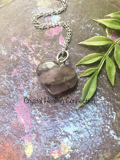 Auralite 23 Tiny Heart Necklace
