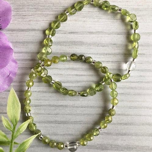 Peridot Bracelets