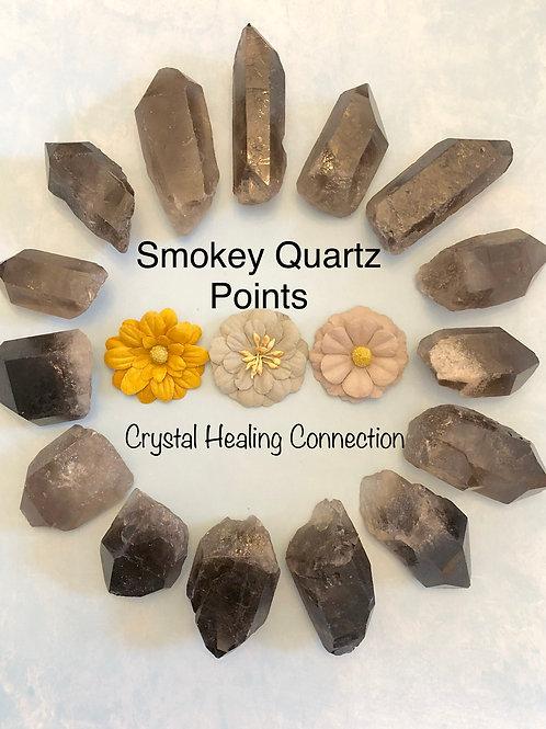 Smokey Quartz Natural Points