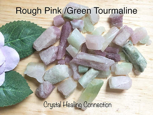 Rough Pink/Green Tourmaline