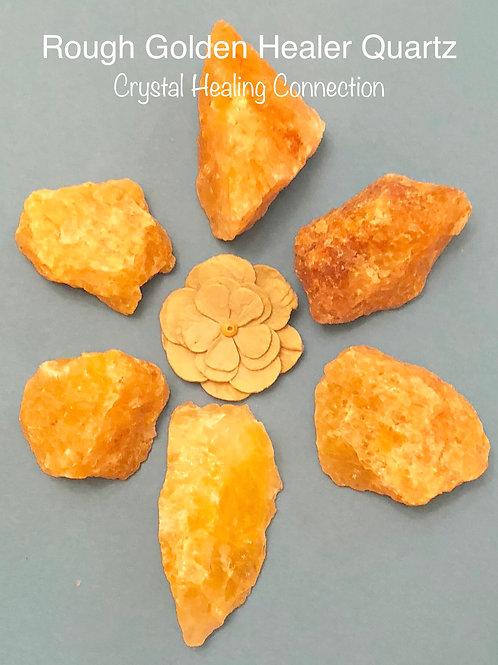 Rough Golden Healer Quartz