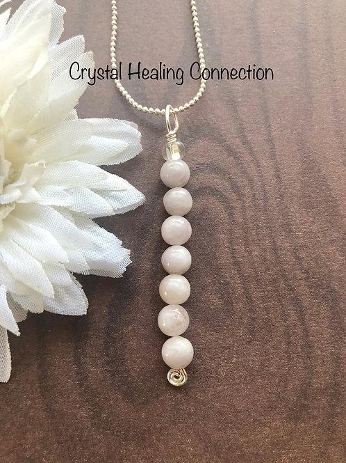 Kunzite 7 Bead Necklace