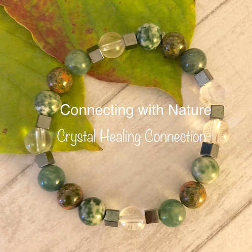 Connecting with Nature Bracelet