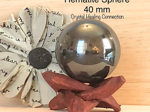 Hematite Sphere 40 mm