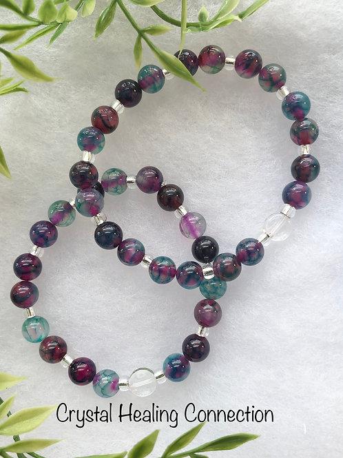 Mixed Agate Bracelets