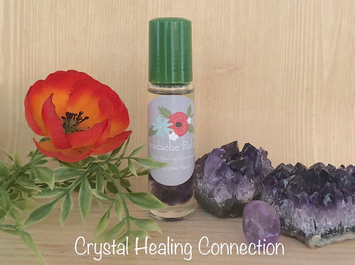 Headache Relief E.O. Crystal Blends