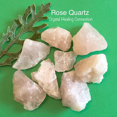 Rough Rose Quartz