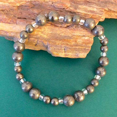 Pyrite Beaded Bracelets