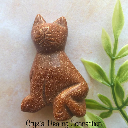 Goldstone Mini Cat  Figures