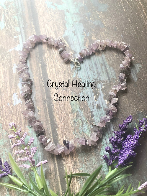 Auralite 23 Crystal Chip Necklace