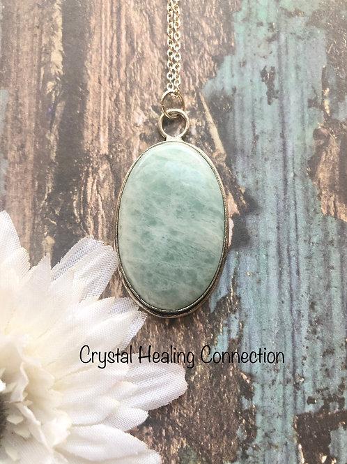 Amazonite Oval necklace