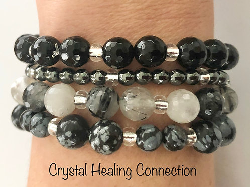 Midnight Blend Crystal Stackables