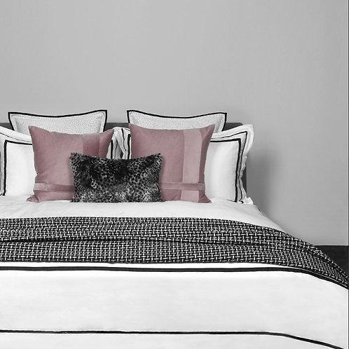 Pink & Grey Cushion Set
