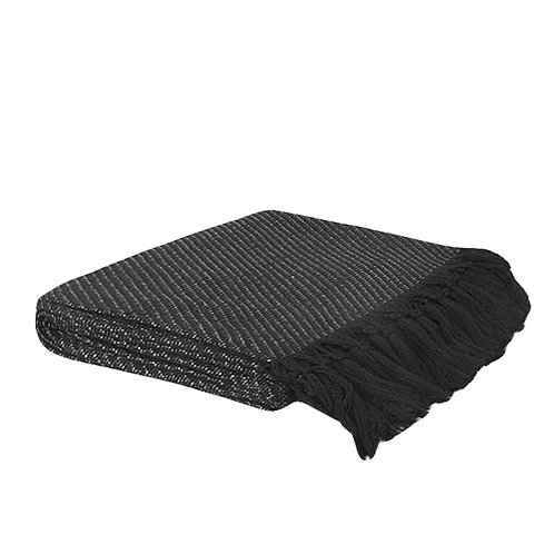 Noir Throw