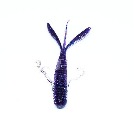 "KEITECH Hog Impact 3"" - Purple Ice Shad"