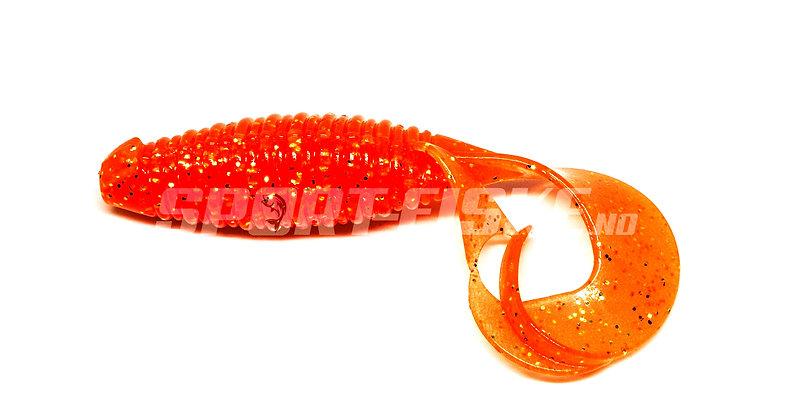 "KEITECH Flapper Grub 4"" - Flashing Carrot"